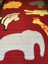 CHILDREN'S 200X300CM RUGS PLAY MATS HOME SCHOOL LEARNING LARGE MATS ANIMALS
